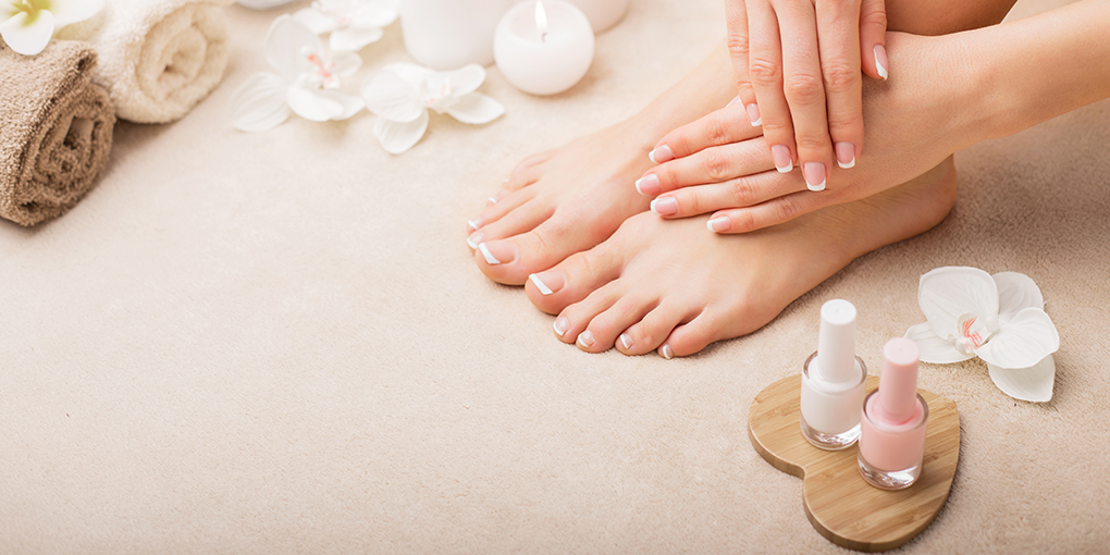 Spa Manicure & Pedicure